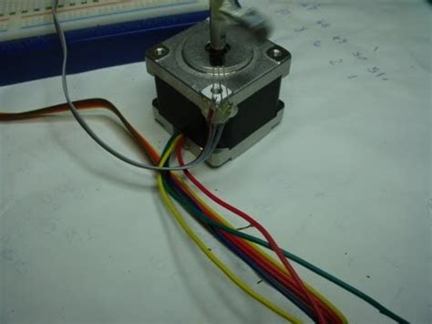 Bipolar Stepper Motor Part Small Motors With Code