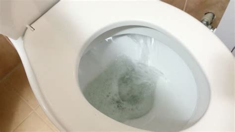 toilet bowl of water up of flushing the toilet bowl stock footage 7131886