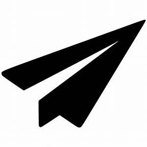 Send Paper Plane Message Communication Mail Email Svg Png ...