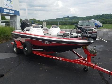 Nitro Boats For Sale Ohio by 2007 Used Nitro 482dc Bass Boat For Sale 10 995