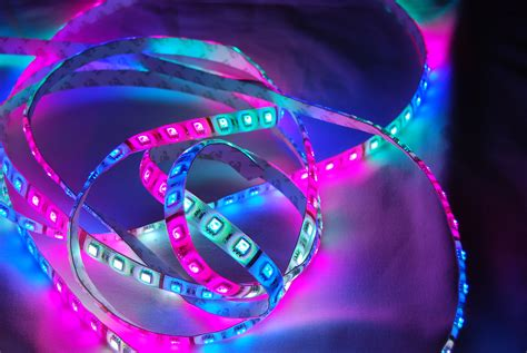 colored led light strips led color changing strip lights can light up your home