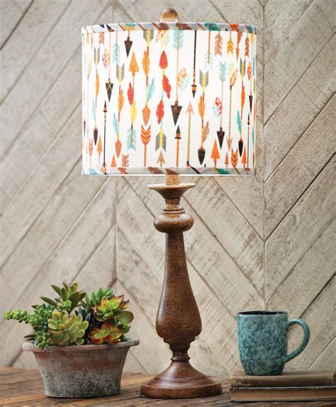 Tribal Arrows Table Lamp   OVERSTOCK