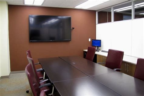 image of a room psc conference room collaboration space population studies center