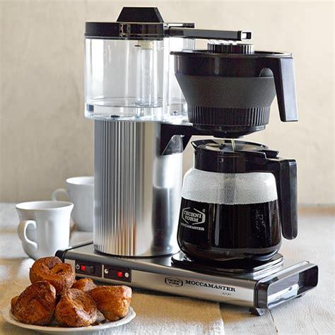 Technivorm Grand Coffee Maker with Glass Carafe   Williams Sonoma