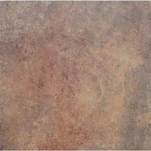 shop stainmaster 1 piece 18 in x 18 in groutable rust peel With rust stains on vinyl flooring