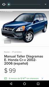 Manual Taller Diagramas E  Honda Cr-v