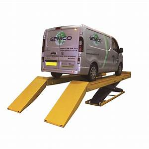 Bradbury H8550wa 5 5 Tonne Wheel Alignment Scissor Lift