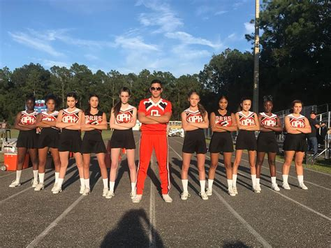 orange park high school cheerleaders home