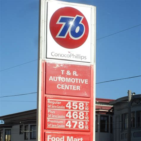 Gas Prices, San Francisco, Ca, Size