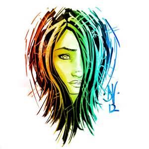 Copic graffiti girl by MetaWorks on DeviantArt