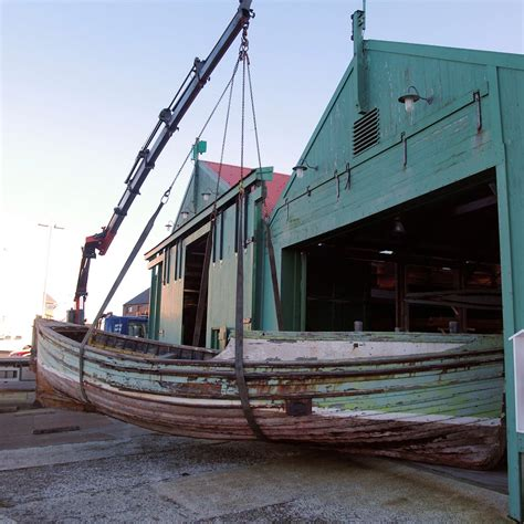 How To Build A Boat Storage Shed by Boat Shed Shetland Museum Archives