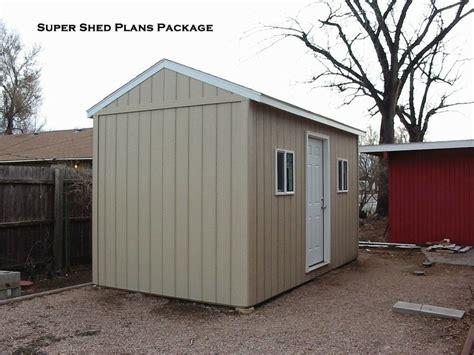 Storage Shed Designs by Custom Design Shed Plans 10x20 Large Saltbox Diy