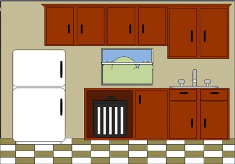 Kitchen Layout Vector by Kitchen Cabinets Free Vintage Clip Design Shop