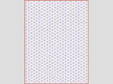 Printable Isometric Dot Paper Printable 360 Degree