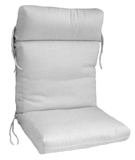 hinged cartridge style club chair cushion