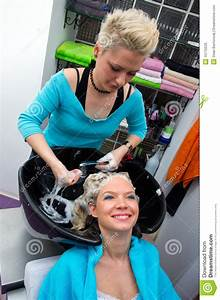 Hair Stylist At Work Stock Photos - Image: 15175533