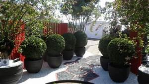 idees amenagement entree jardin With idee amenagement entree exterieure 2 12 facons damenager lentree de sa maison elle decoration