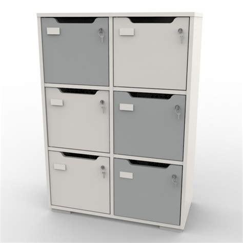 casiers de rangement bureau casier de bureau meuble vestiaire bois entreprise