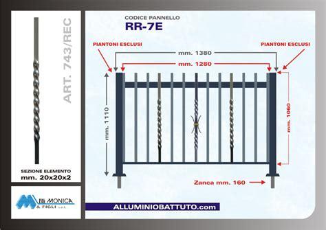 altezza ringhiera balcone alluminio battuto pannelli ringhiere balconi parapetti