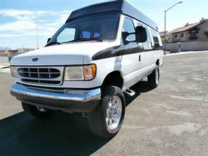 Sell Used 1995 Ford E350 Diesel Van 4x4 12 Passenger In