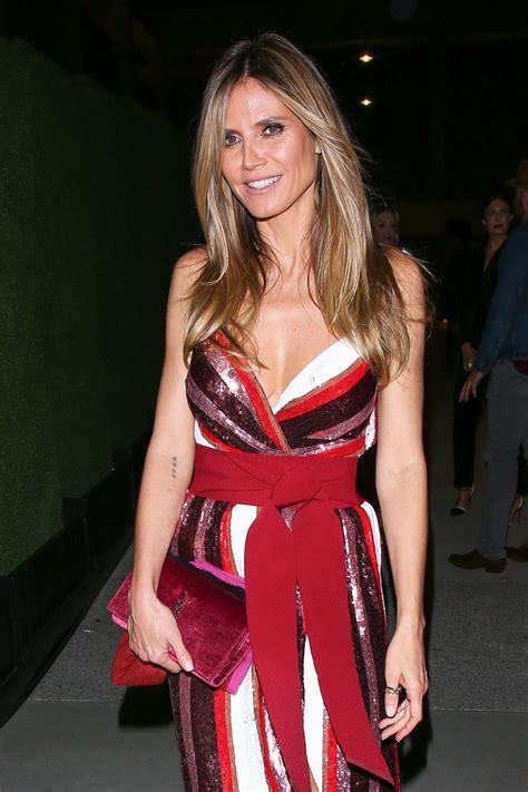 Heidi Klum Night Out Style