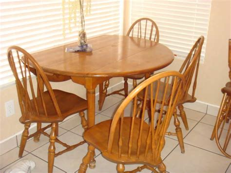 beautiful solid birch buffet hutch dining table and six