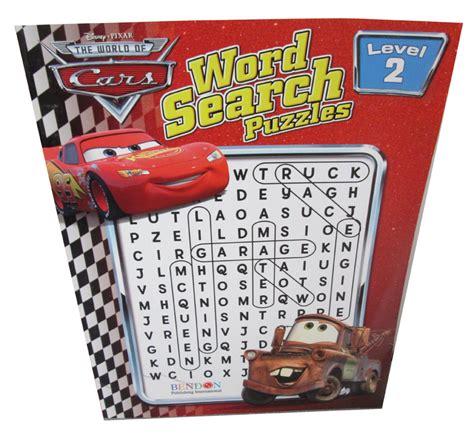 Disney Cars Word Search