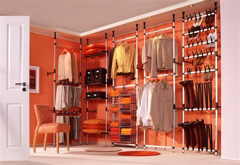 closet storage solutions for clothes bags and shoes from