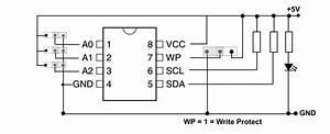 Memory Eeprom At24c08 - I2c Interface