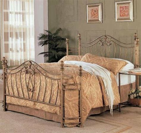 metal headboard and footboard size bed curved iron scroll headboard footboard