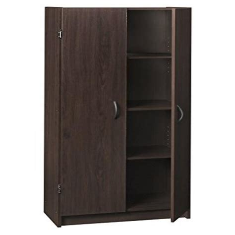 Closetmaid Pantry Storage Cabinet - closetmaid 1556 pantry cabinet espresso walmart