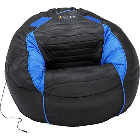 big kahuna chair free shipping kahuna sound chair bean bag black and blue walmart