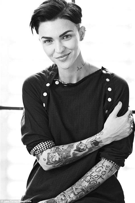 Ruby Rose's Rockin Hairstyle