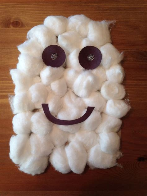 cotton ghost craft for 7 best images about october on 7525