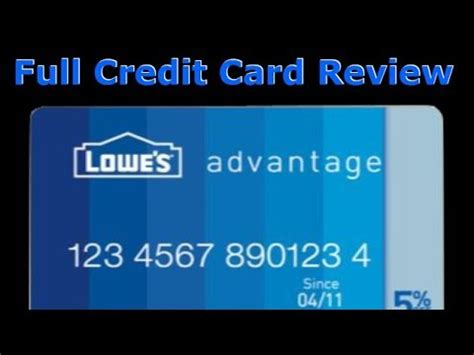 We did not find results for: Credit Card Review: Lowe's Advantage Credit Card - YouTube