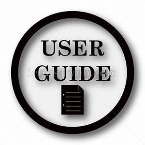 User Guide Simple Icon  User Guide Simple Button