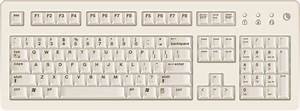 Computer Keyboard Cliparts - The Cliparts