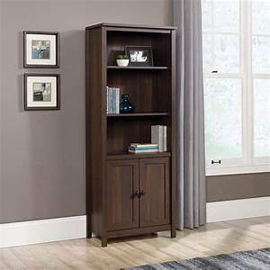 Sauder, County, Line, Library, Bookcase, With, Doors