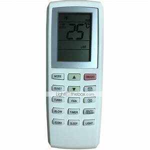 Replacment For Gree Air Conditioner Remote Control Model