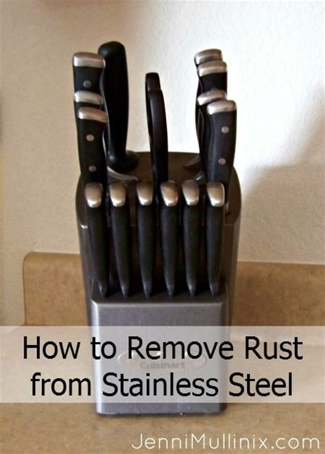 removing rust ideas  pinterest remove