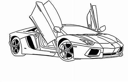 Lamborghini Coloring Pages Gallardo Getcolorings Luxury