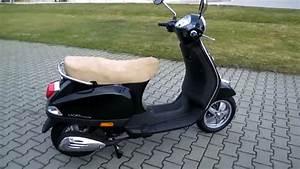 Vespa Roller 50 : vespa lx 50 4t 2010 schwarz roller youtube ~ Jslefanu.com Haus und Dekorationen