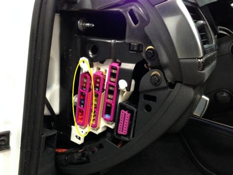 Audi A6 4f Fuse Box by Radar Direct Wire Finding A Switched Circuit In Fusebox