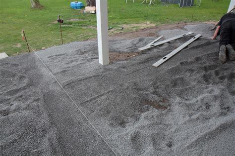 terrassenplatten in trenagebeton verlegen terrasse aus stein bau und anleitung