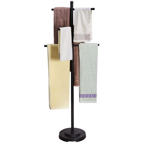 towel rack stand bathroom towel bar ideas and styles buying guide