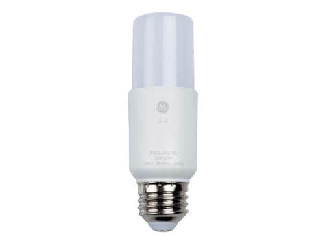 ge bright stik  watt  dimmable  led bulb  pack ledls  bulbscom