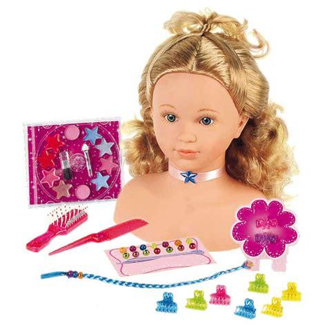 siege bébé tête à coiffer et à maquiller miss fashion king jouet