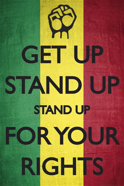 Bob Marley Get Up Stand Up Quotes
