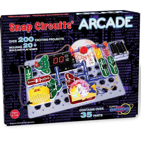 Snap Circuits Arcade Electronic Projects Kit Educational