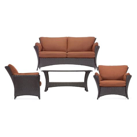 shop hanover outdoor furniture strathmere 4 wicker